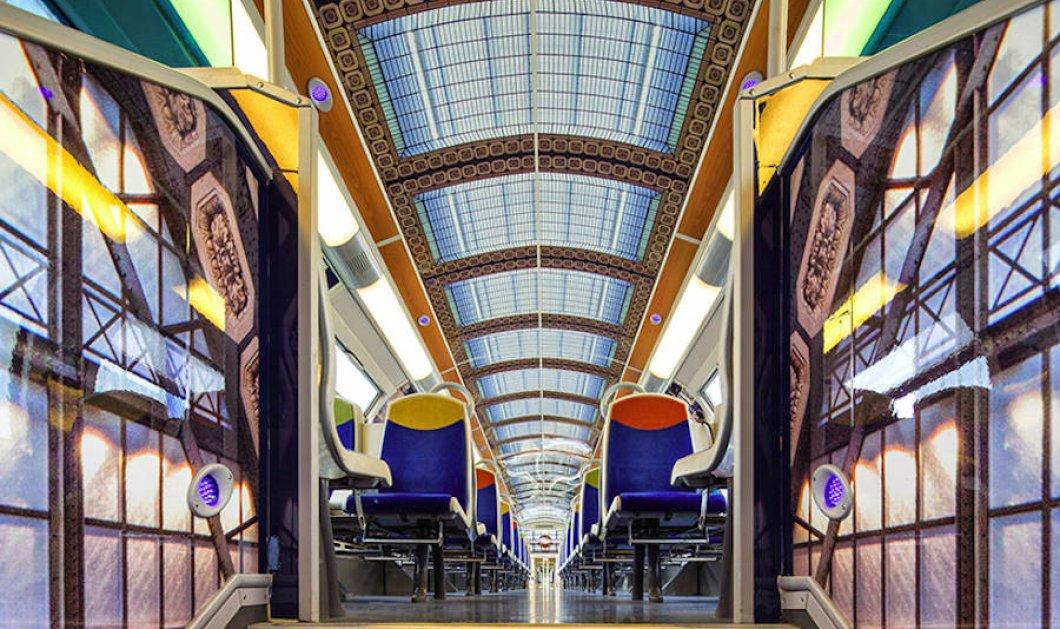 Συναρπαστικό! Δείτε πως ανακαίνισαν οι Γάλλοι τα τρένα τους με touch ιμπρεσιονιστών - Κυρίως Φωτογραφία - Gallery - Video