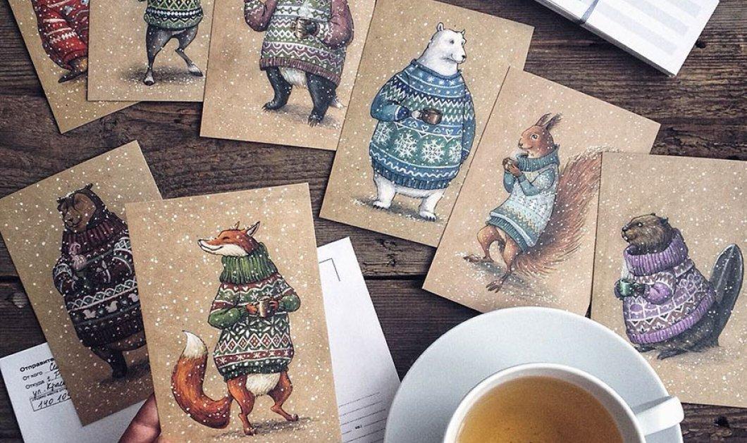 Μια Ρωσίδα «αφηγείται» με τα πολύχρωμα μολύβια της υπέροχα μαγικά παραμύθια με νεράιδες και ζώα - Κυρίως Φωτογραφία - Gallery - Video