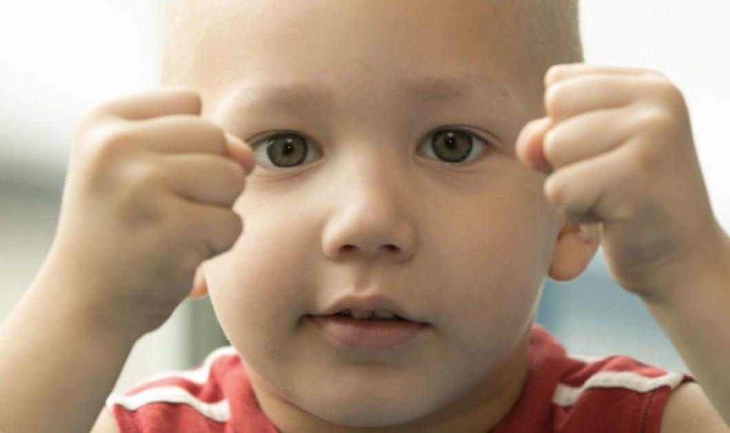 Ο 2χρονος Κωνσταντίνος διαγνώστηκε με λευχαιμία- Μπορείτε να βοηθήσετε για να γίνει καλά; - Κυρίως Φωτογραφία - Gallery - Video