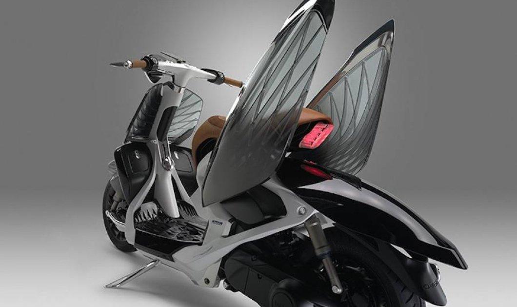 Ασύλληπτο design: Με τη νέα Yamaha με φτερά κύκνου σίγουρα απογειώνεστε - Κυρίως Φωτογραφία - Gallery - Video