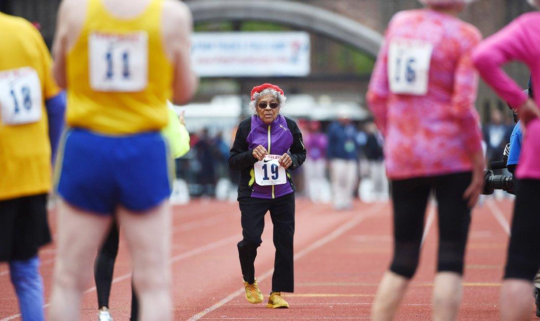Top Woman η 101 ετών Άιντα Κίλινγκ: Τερματίζει σε αγώνα δρόμου & πανηγυρίζει με push-ups  - Κυρίως Φωτογραφία - Gallery - Video