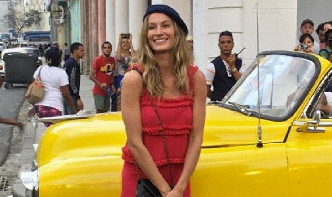Κούβα: Με Chanel η πρώτη επίδειξη μόδας μετά την επανάσταση του 1959 - Η Ζιζέλ στην πασαρέλα, ο λαός από μακριά - Κυρίως Φωτογραφία - Gallery - Video
