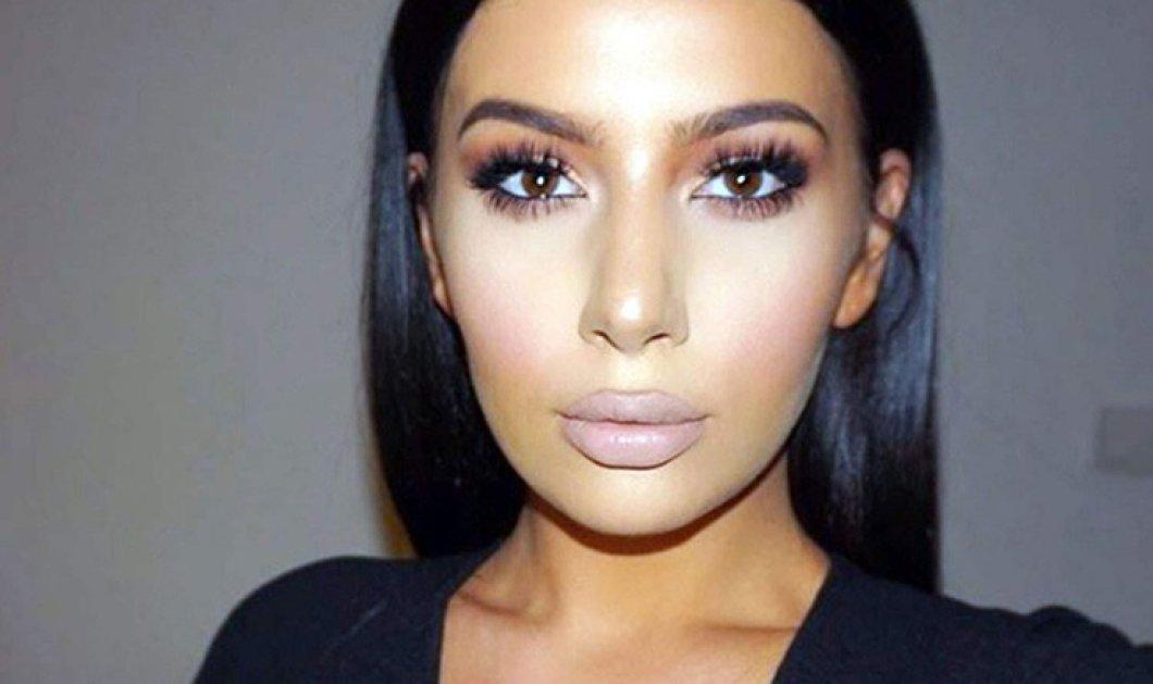Η σωσίας της Kim Kardashian ζει στην Κροατία & έχει 600.000 followers: Η μακιγιέζ που μοιάζει φοβερά με την τηλεπερσόνα - Κυρίως Φωτογραφία - Gallery - Video