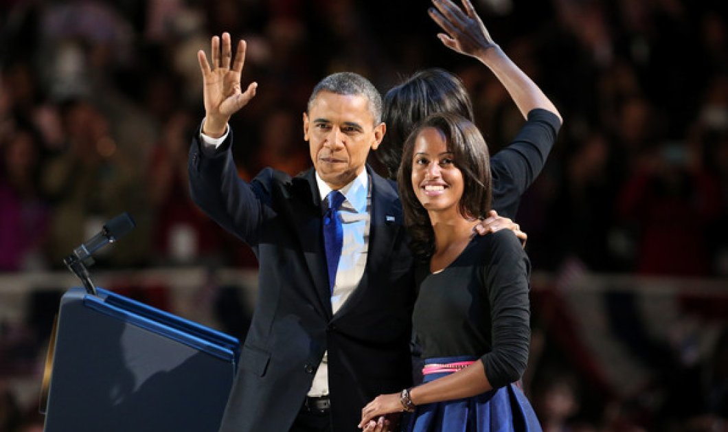Επανάσταση τώρα! Η μικρή Μάλια ζήτησε... 1 χρόνο άδεια από τον μπαμπά Ομπάμα πριν πάει στο Χαρβαρντ - Κυρίως Φωτογραφία - Gallery - Video