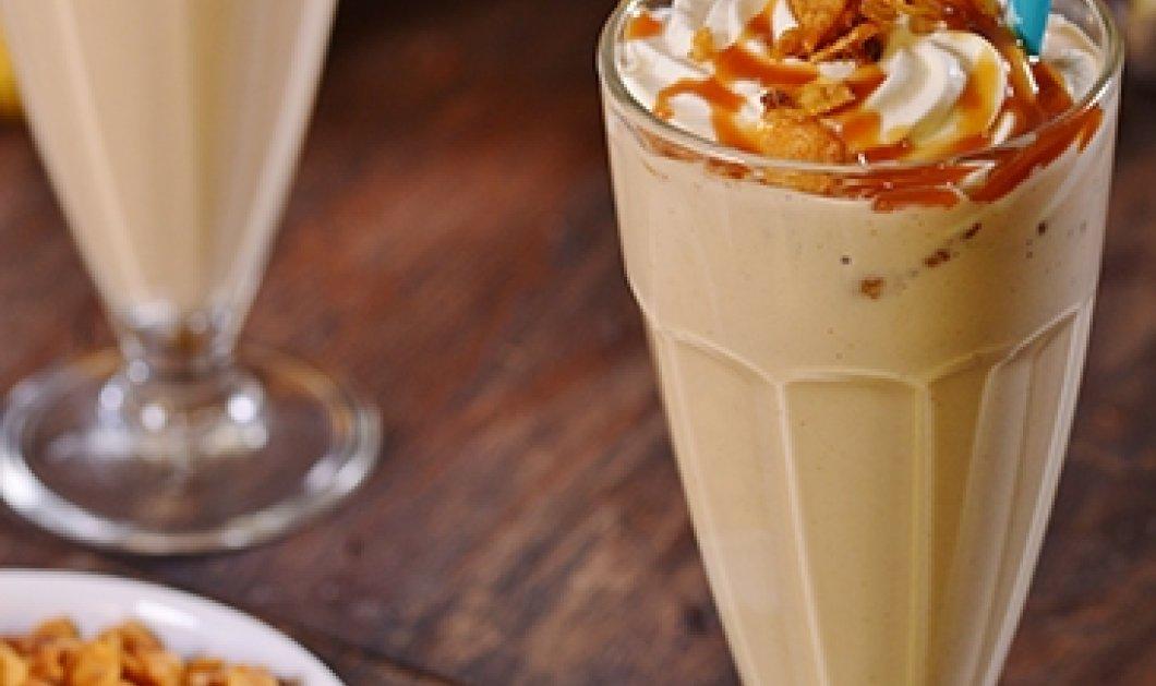 Ο Γιάννης Λουκάκος μας προτείνει απολαυστικό milkshake με μπανάνα και φιστικοβούτυρο - Κυρίως Φωτογραφία - Gallery - Video