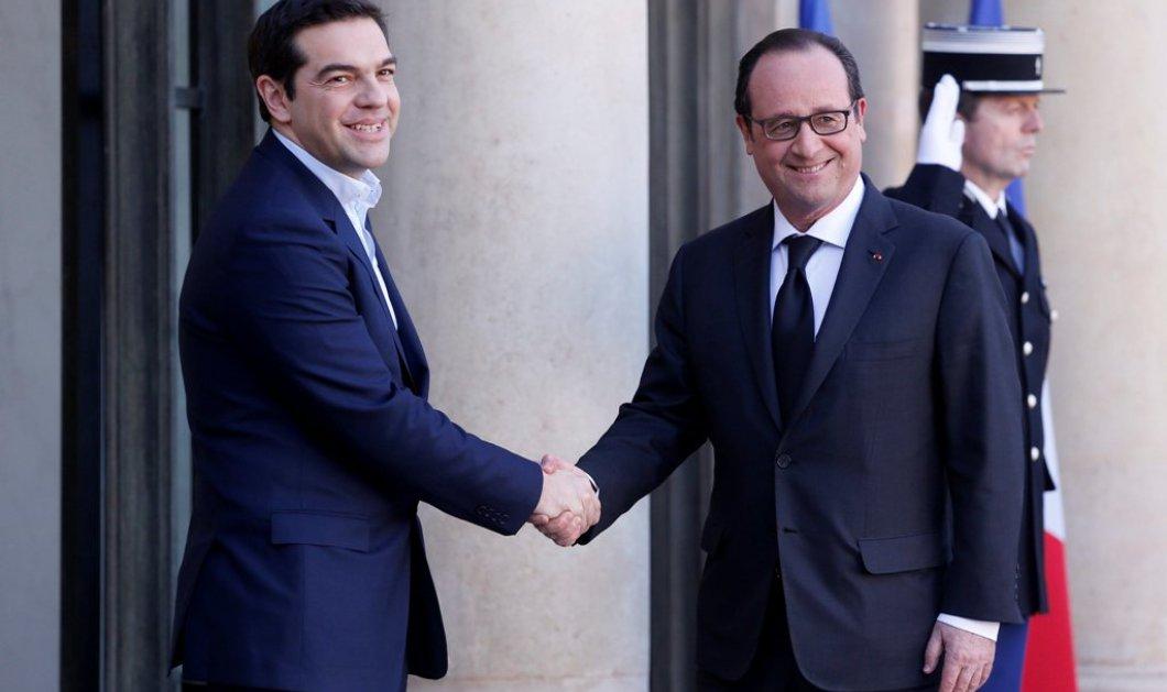 Τηλεφωνική επικοινωνία Φρανσουά  Ολάντ – Τσίπρα ενόψει Eurogroup - Τι συζήτησαν οι δύο ηγέτες   - Κυρίως Φωτογραφία - Gallery - Video