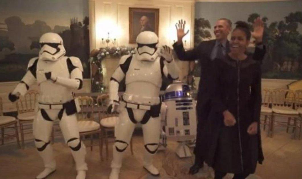 Ξέφρενος χορός: Βίντεο - Οι Ομπάμπα χορεύουν με τους Stormtroopers του Star Wars  - Κυρίως Φωτογραφία - Gallery - Video