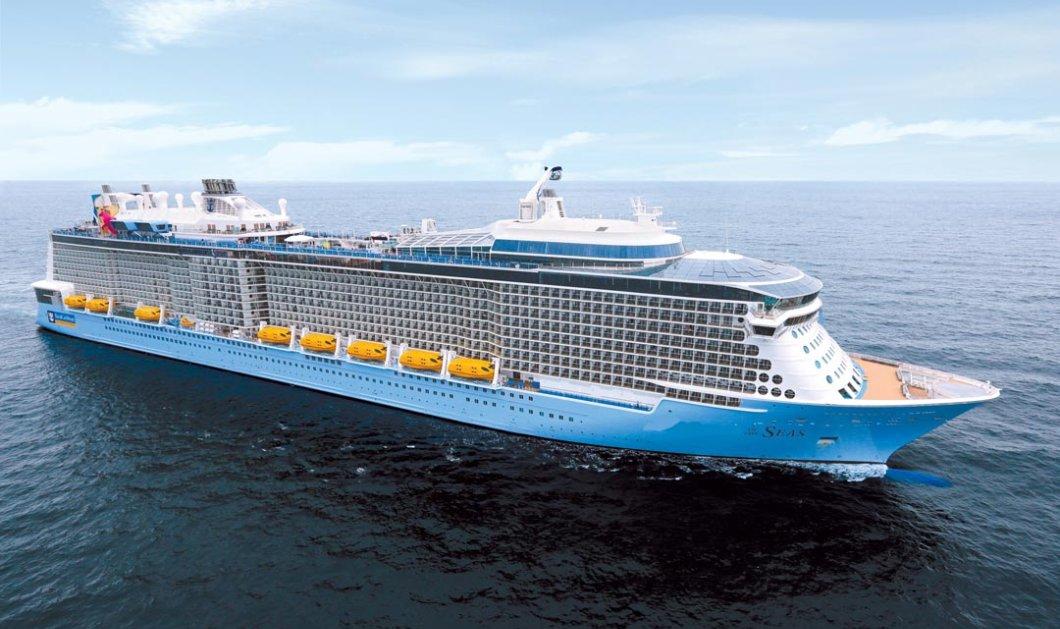 Στον Πειραιά το «Ovation of the Seas»: Το νεότευκτο και μεγαλύτερο κρουαζιερόπλοιο στον κόσμο – Ξεκινά κρουαζιέρες στη Μεσόγειο - Κυρίως Φωτογραφία - Gallery - Video