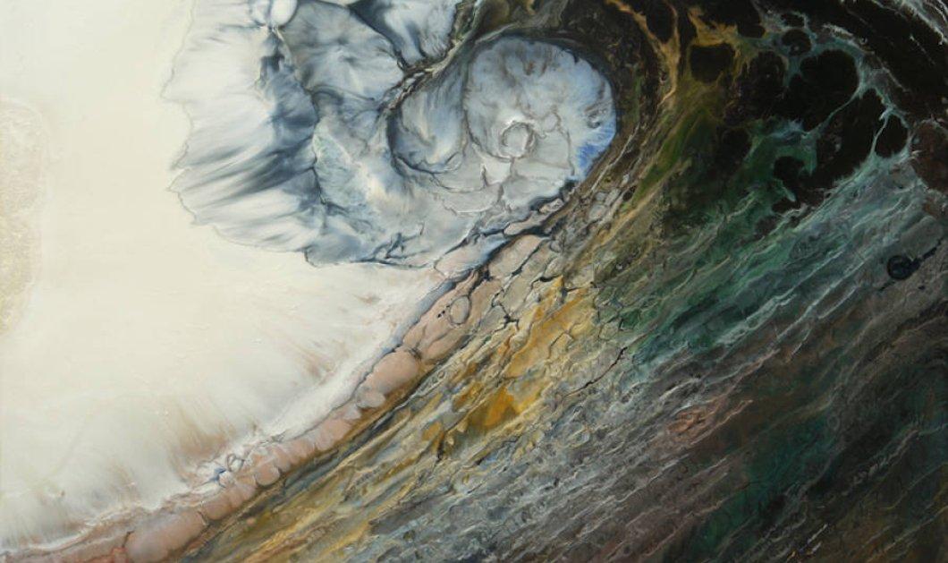Όταν η ζωγραφική συναντά τη δύναμη των κυμάτων - Κυρίως Φωτογραφία - Gallery - Video