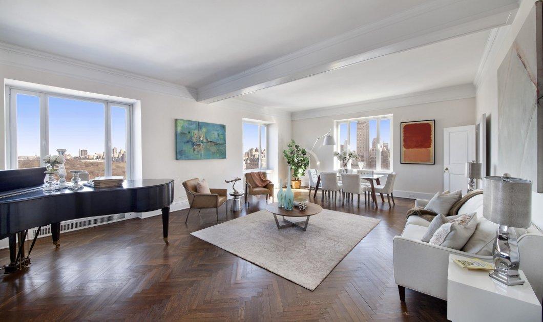 """Ιδού το πολυτελέστατο διαμέρισμα του Λουτσιάνο Παβαρότι στη Νέα Υόρκη: Η τιμή του; """"Μόλις"""" $10,5 εκατ.   - Κυρίως Φωτογραφία - Gallery - Video"""