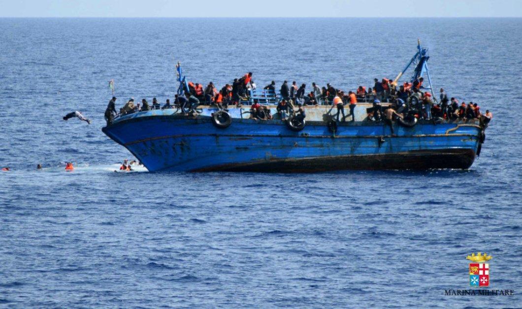 Νέα ναυτική τραγωδία με τουλάχιστον 20 νεκρούς μετανάστες ανοιχτά της Λιβύης  - Κυρίως Φωτογραφία - Gallery - Video