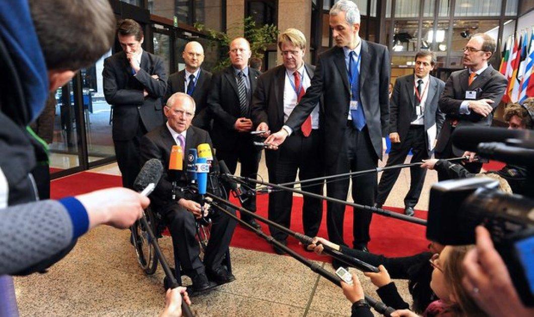 Σόιμπλε πριν το Eurgroup: Ήρθαμε για να ολοκληρώσουμε τις θέσεις μας - H Ελλάδα να μιλήσει με το ΔΝΤ - Κυρίως Φωτογραφία - Gallery - Video