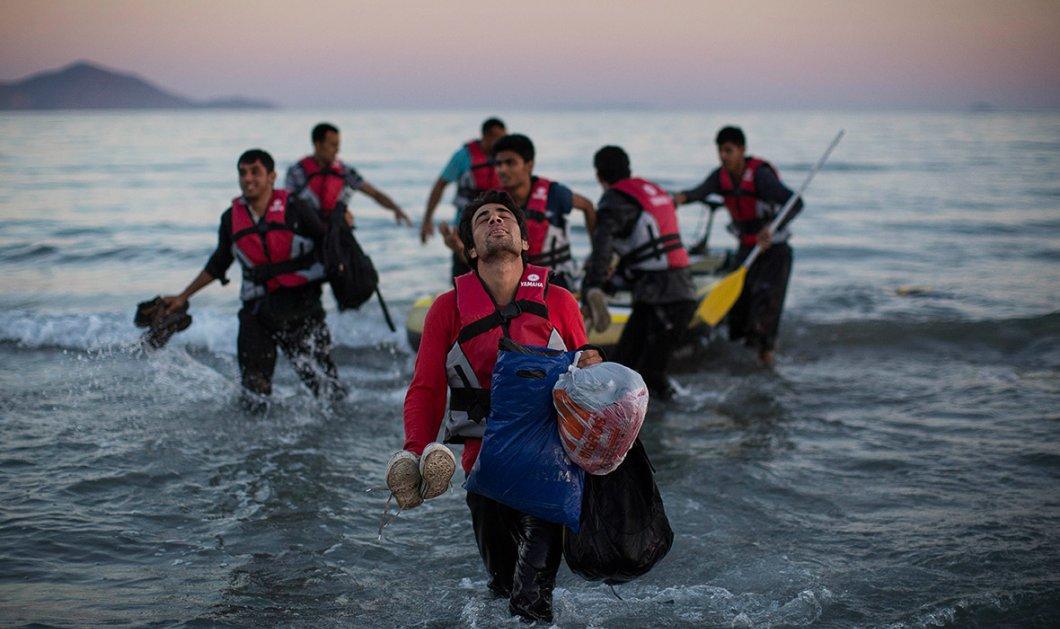 Κρούσματα απελπισίας προσφύγων: Προσπαθούν να επιστρέψουν στην Τουρκία κολυμπώντας   - Κυρίως Φωτογραφία - Gallery - Video