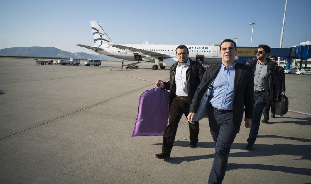 Ταξίδι-αστραπή Τσίπρα στην Ιταλία με μπαράζ συναντήσεων: Το πρόγραμμα του Πρωθυπουργού - Κυρίως Φωτογραφία - Gallery - Video