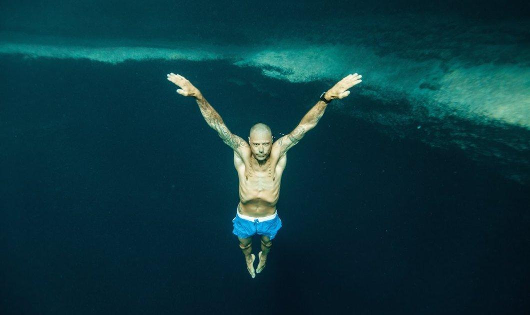 Απίθανο βίντεο: Πώς ο Νεοζηλανδός William Trubridge κατέρριψε το ρεκόρ Freediving  - Κυρίως Φωτογραφία - Gallery - Video
