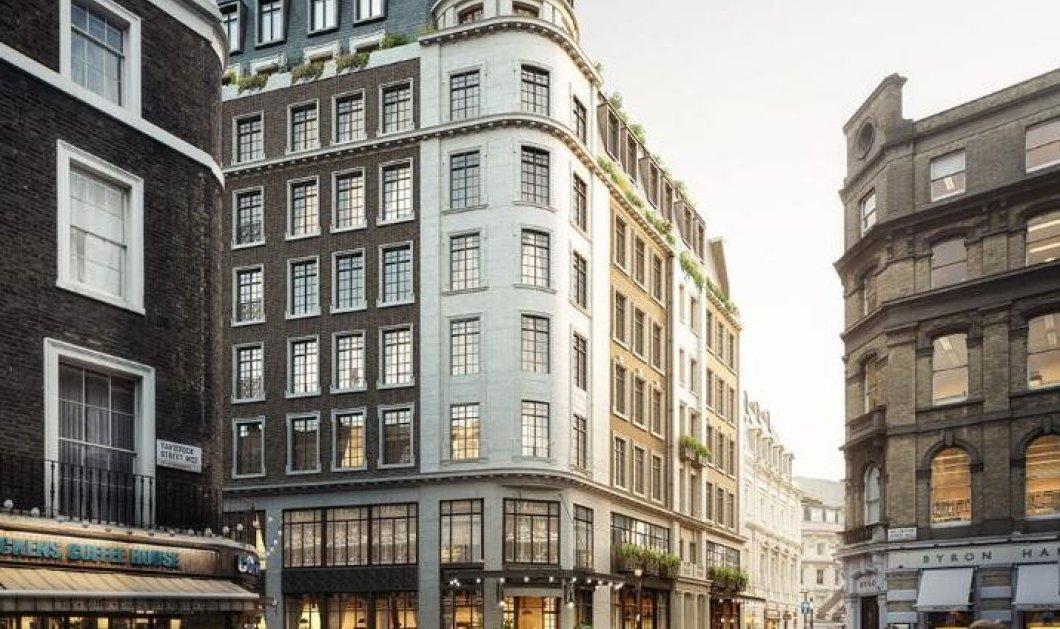 Έτσι θα είναι το Boutique hotel που ανοίγει ο Robert De Niro στην καρδιά του Λονδίνου με spa & πισίνα   - Κυρίως Φωτογραφία - Gallery - Video