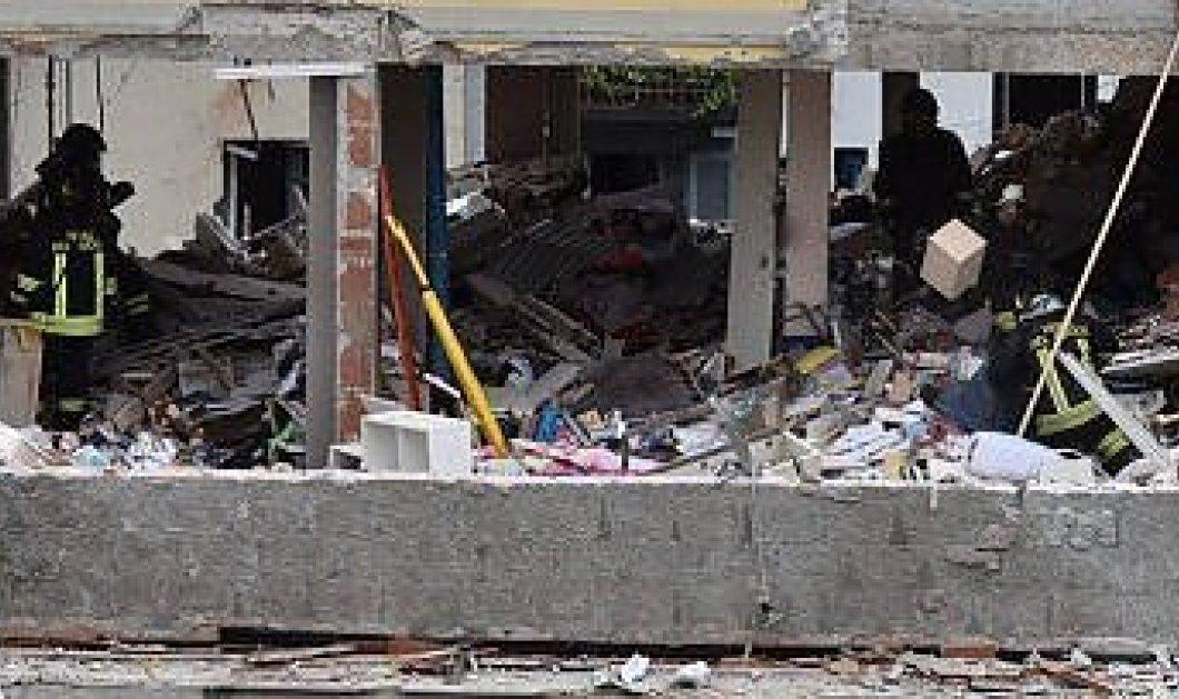 Τρεις νεκροί από κατάρρευση πολυκατοικίας στο Μιλάνο - Κυρίως Φωτογραφία - Gallery - Video