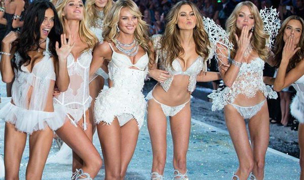 Τα αγγελάκια της Victoria Secret έβαλαν τα εσώρουχά τους & τραγούδησαν το Can't Stop the Feeling του Timberlake  - Κυρίως Φωτογραφία - Gallery - Video