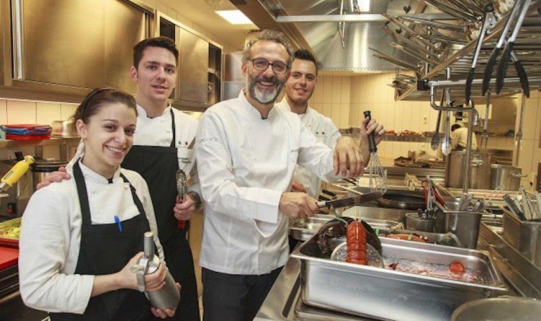 50 best: Αυτό το ιταλικό εστιατόριο είναι το καλύτερο στον κόσμο & ο μάγος του μακαρόν Pierre Herme ο super ζαχαροπλάστης    - Κυρίως Φωτογραφία - Gallery - Video