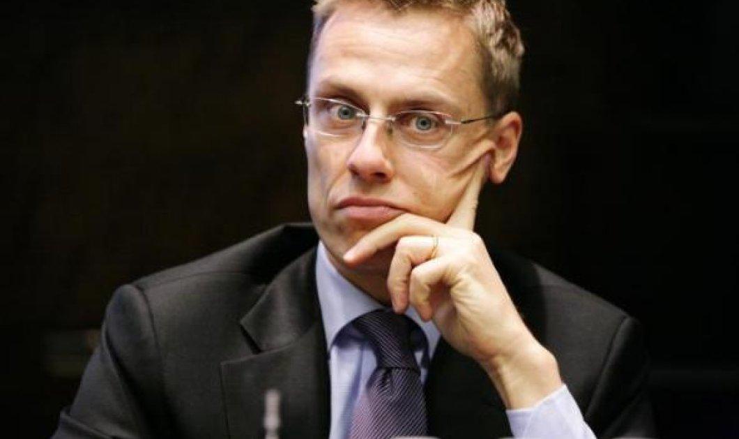 """Οι Φινλανδοί καθαίρεσαν τον """"λαλίστατο"""" υπουργό οικονομικών Αλ. Στουμπ - Ποιός αναλαμβάνει στη θέση του - Κυρίως Φωτογραφία - Gallery - Video"""