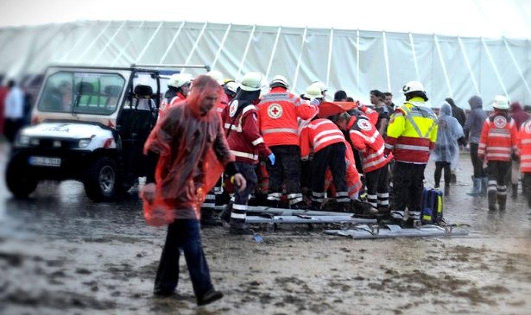 Τρίτο σοβαρό περιστατικό με κεραυνούς σε μια εβδομάδα! 70 άτομα τραυματίστηκαν σε συναυλία στη Γερμανία - Κυρίως Φωτογραφία - Gallery - Video