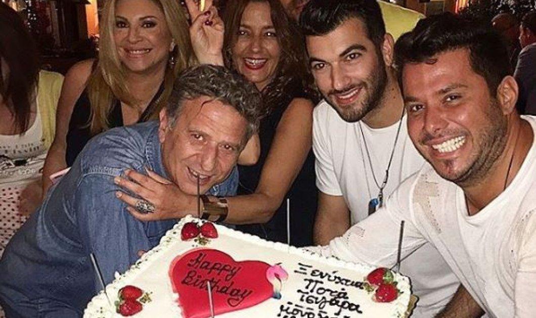 Με καλούς φίλους έσβησε τα κεράκια της τούρτας των γενεθλίων του ο Κόκλας μετά την περιπέτεια της υγείας του     - Κυρίως Φωτογραφία - Gallery - Video