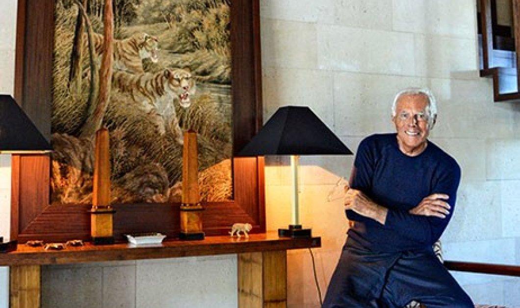 Φωτό από το θαυμάσιο εξοχικό του Giorgio Armani στο Saint - Tropez: Το γούστο του Ιταλού designer σε προσωπικούς χώρους  - Κυρίως Φωτογραφία - Gallery - Video