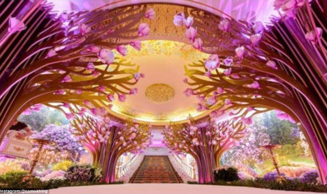 Ένας γάμος για την Σαλώμη που θα μείνει στην ιστορία: 3 νυφικά από 200.000€ το καθένα  - Κυρίως Φωτογραφία - Gallery - Video