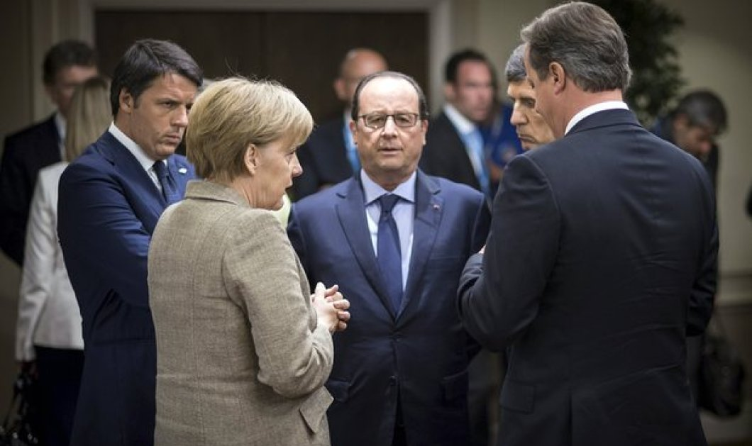 Kρίσιμη σύσκεψη Ολάντ, Μέρκελ, Ρέντσι, Τουσκ στο Βερολίνο - Ενώνουν τις δυνάμεις τους για αντιμετώπιση του Βrexit - Κυρίως Φωτογραφία - Gallery - Video