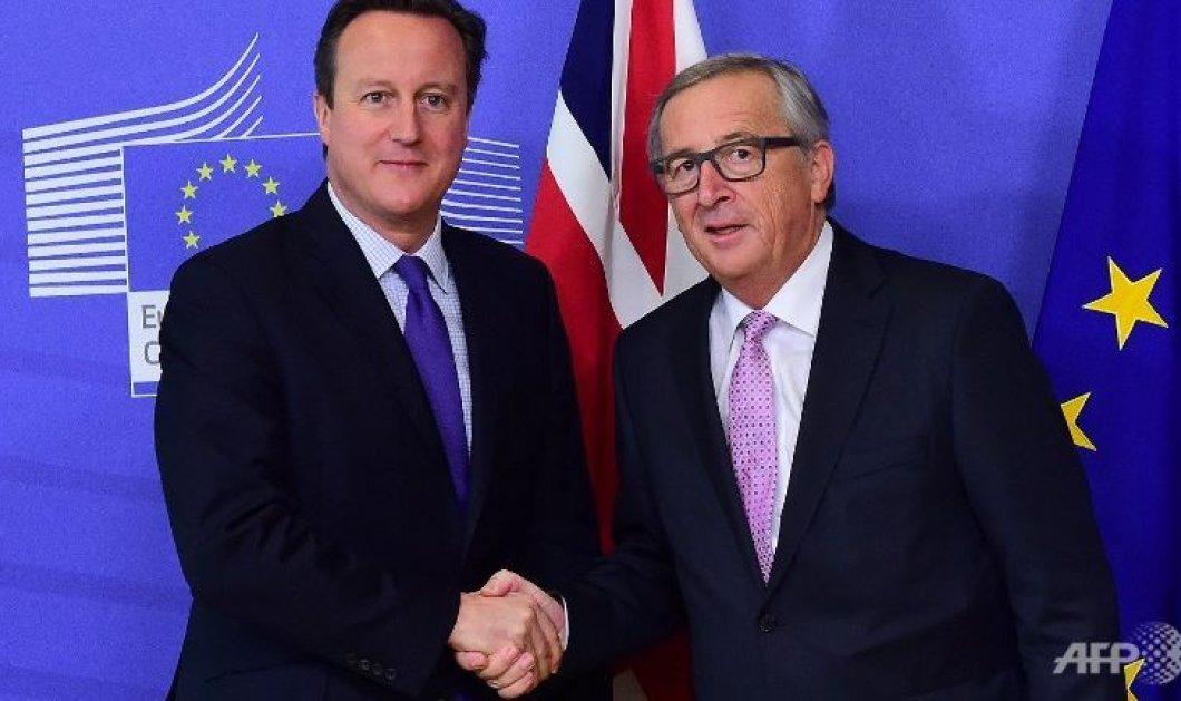 O Γιούνκερ ξεκαθαρίζει: Εχω απαγορεύσει στους επιτρόπους κάθε συζήτηση με Βρετανούς - Να δει ο Κάμερον τι θα κάνει  - Κυρίως Φωτογραφία - Gallery - Video