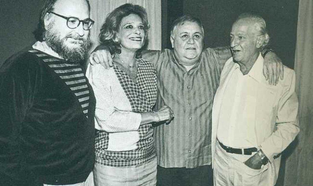 Αλίκη, Μελίνα, Τζένη, Μαρινέλλα, Χορν & Μάριος Φραγκούλης τραγουδούν Μάνο Χατζιδάκι - Αφιέρωμα 22 χρόνια από τον θάνατο του - Κυρίως Φωτογραφία - Gallery - Video