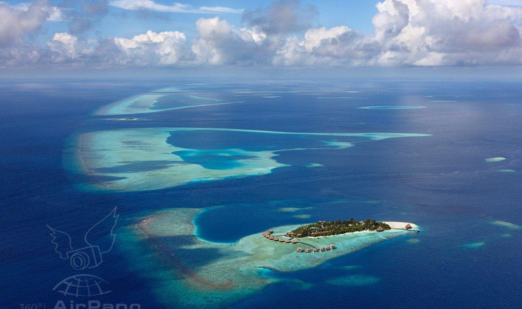 Μαλδίβες ο παράδεισος του Ειρηνικού ωκεανού από ψηλά: Σμαραγδένιες παραλίες & κοράλια - Κυρίως Φωτογραφία - Gallery - Video