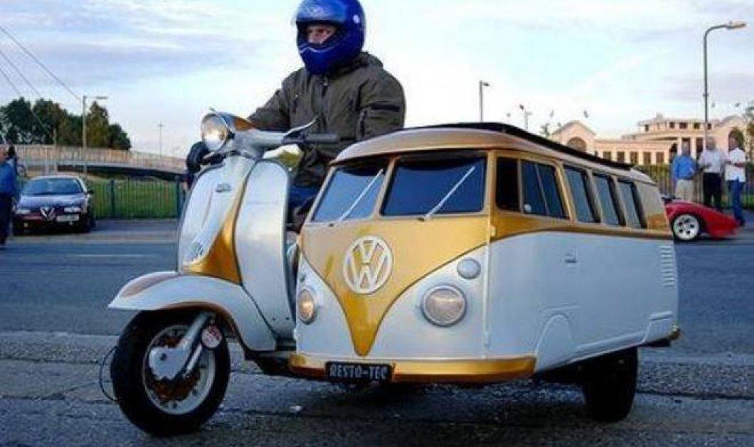 Αυτοσχέδιες πατέντες μηχανής - αυτοκινήτου για Όσκαρ: Οι τύποι έχουν πολύ φαντασία - Κυρίως Φωτογραφία - Gallery - Video