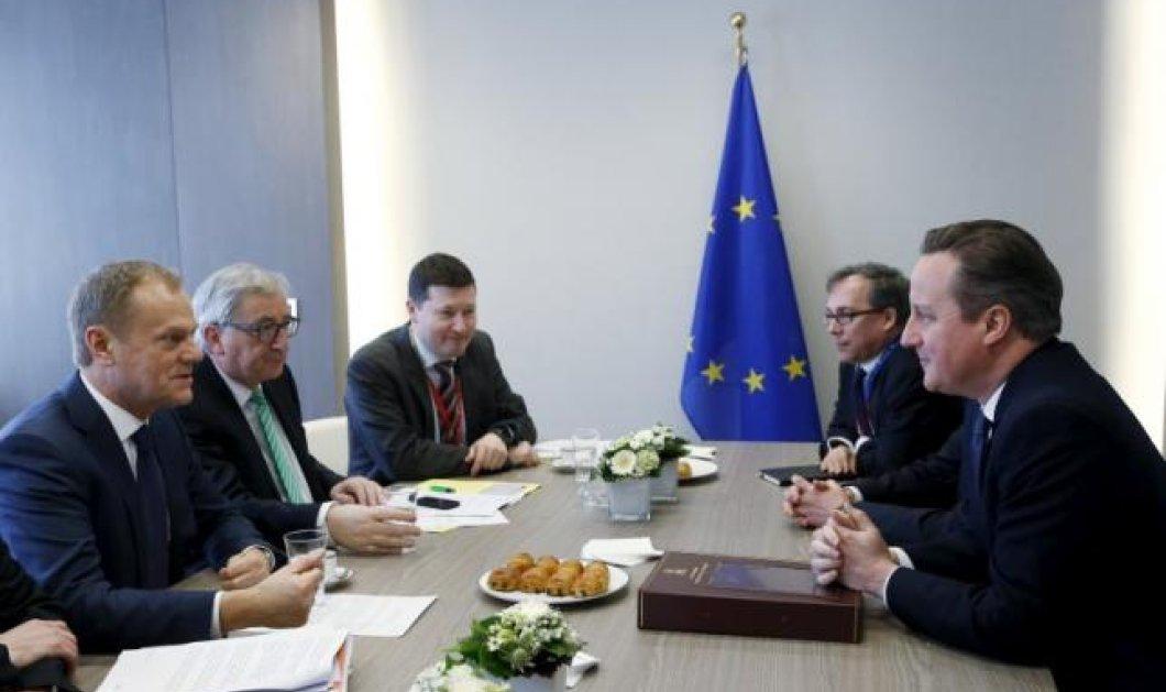 Οι 27 αποφασίζουν για το Βrexit: Kρίσιμη Σύνοδος Κορυφής με Κάμερον αντιμέτωπο με τους ηγέτες της ΕΕ - Κυρίως Φωτογραφία - Gallery - Video