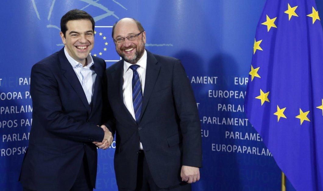 Tο τετ α τετ Τσίπρα - Σουλτς στην Σύνοδο Κορυφής για το Βrexit: «Το μέλλον της Ευρώπης συνδέεται με την ενίσχυση της δημοκρατίας» - Κυρίως Φωτογραφία - Gallery - Video