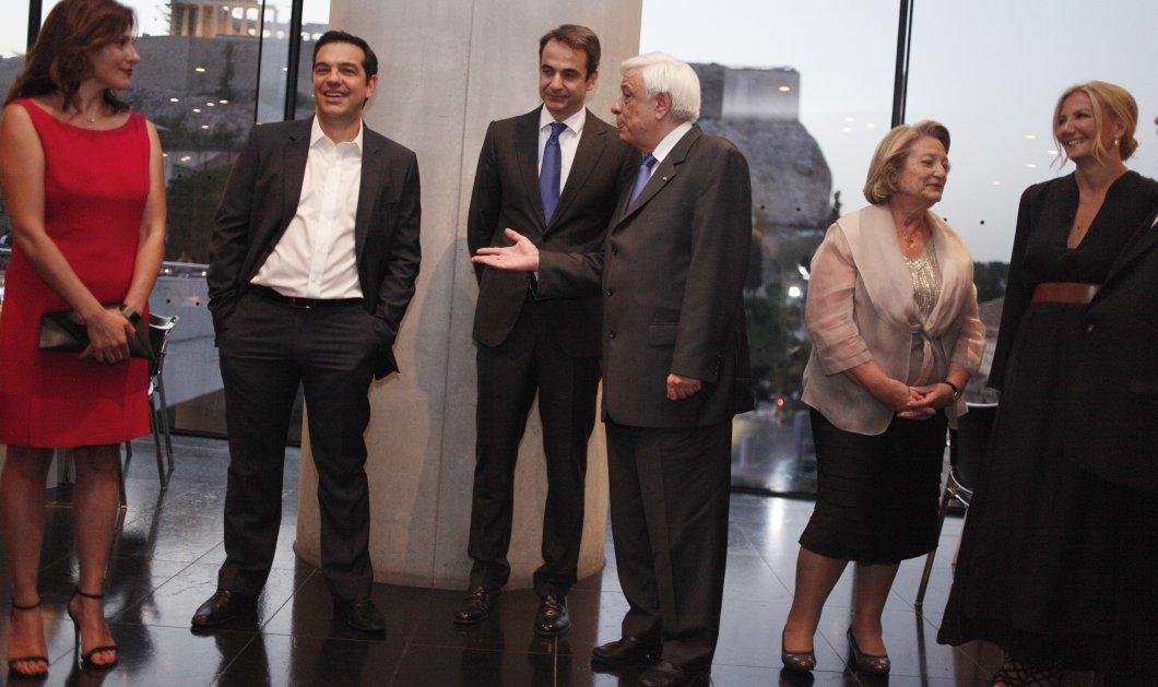 Ο ΟΗΕ έφερε κοντά Αλέξη & Κυριάκο: Κάτω από την Ακρόπολη συνάντηση & δείπνο με Μπαν Κι Μουν & Π. Παυλόπουλο - Κυρίως Φωτογραφία - Gallery - Video