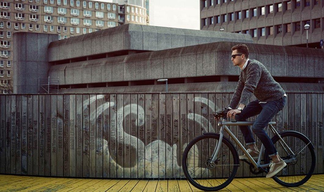Ένα έξυπνο ποδήλατο από το Άμστερνταμ που γίνεται η απόλυτη απάντηση ενάντια σε κάθε επίδοξο κλέφτη - Κυρίως Φωτογραφία - Gallery - Video