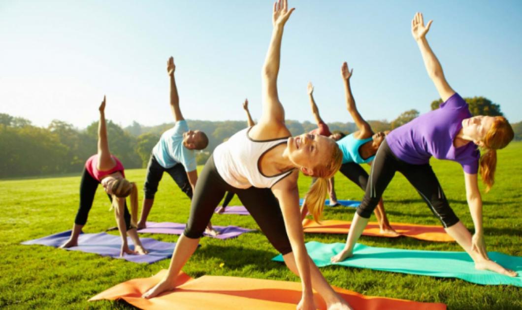 Good News: Δωρεάν μαθήματα yoga στα πάρκα της Αθήνας  - Κυρίως Φωτογραφία - Gallery - Video