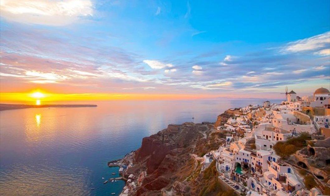 Καταπληκτικά ηλιοβασιλέματα σε διάφορα μέρη του Αιγαίου: Σαντορίνη, Ικαρία, Ρόδος, Μήλος  - Κυρίως Φωτογραφία - Gallery - Video