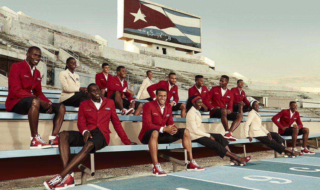 Η Ολυμπιακή αποστολή της Κούβας φοράει Λουμπουτέν & ετοιμάζεται για Ρίο - Κυρίως Φωτογραφία - Gallery - Video