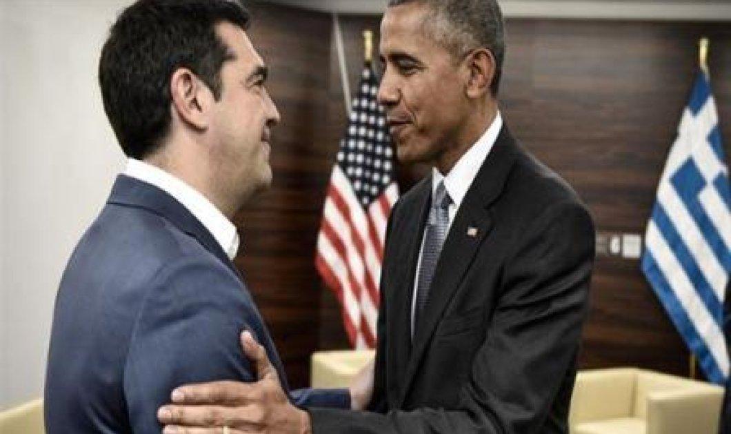 Τα σχόλια του Ομπάμα περί… γραβάτας, στη συνάντηση του με τον Αλ. Τσίπρα – Τι απάντησε ο πρωθυπουργός (βίντεο) - Κυρίως Φωτογραφία - Gallery - Video
