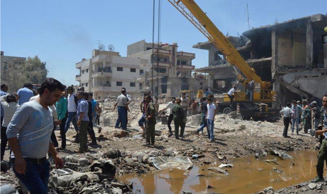 Τρόμος στην Συρία: Τουλάχιστον 44 νεκροί και 170 τραυματίες σε διπλή επίθεση στην πόλη Καμισλί   - Κυρίως Φωτογραφία - Gallery - Video