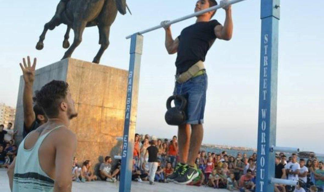 18χρονος Θεσσαλονικιός κατέκτησε ρεκόρ Γκίνες - Γιατί νομίζετε;   - Κυρίως Φωτογραφία - Gallery - Video