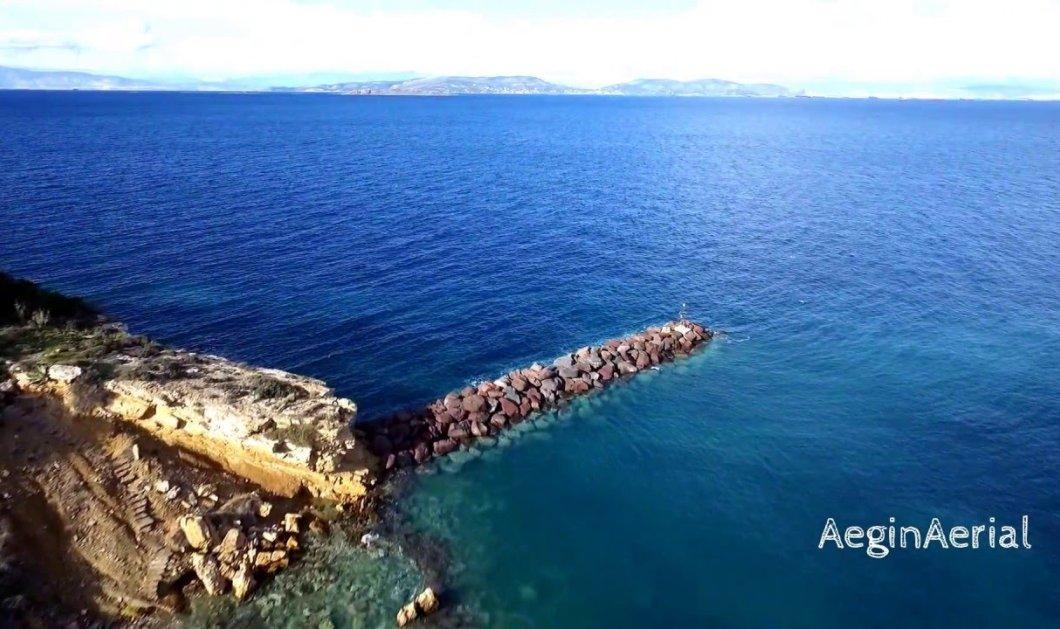 """Αίγινα: Η """"πρωτεύουσα"""" του Σαρωνικού κόλπου από ψηλά - Το νησί με την ιστορία, τις παραλίες & τις γεύσεις - Κυρίως Φωτογραφία - Gallery - Video"""