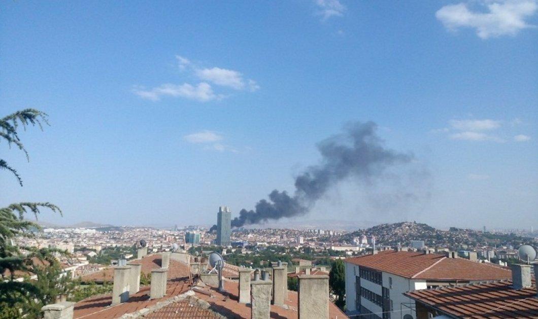 Βίντεο: «Συναγερμός» στην Άγκυρα από πυρκαγιά σε κτίριο με διαμερίσματα   - Κυρίως Φωτογραφία - Gallery - Video