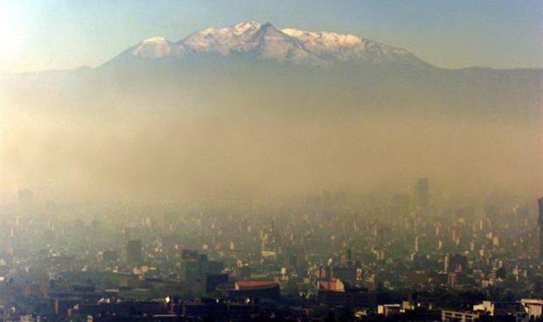 """Στο """"κόκκινο"""" το όζον στην Αθήνα: Αποπνικτική η ατμόσφαιρα - Δείτε τον πίνακα   - Κυρίως Φωτογραφία - Gallery - Video"""