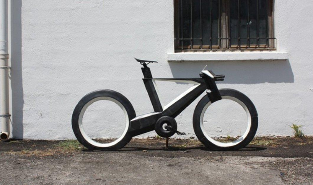 """Ιδού το πιο """"τεχνολογικό"""" ποδήλατο μέχρι σήμερα: Το εκπληκτικό cyclotron, χωρίς λάστιχα και ακτίνες  - Κυρίως Φωτογραφία - Gallery - Video"""