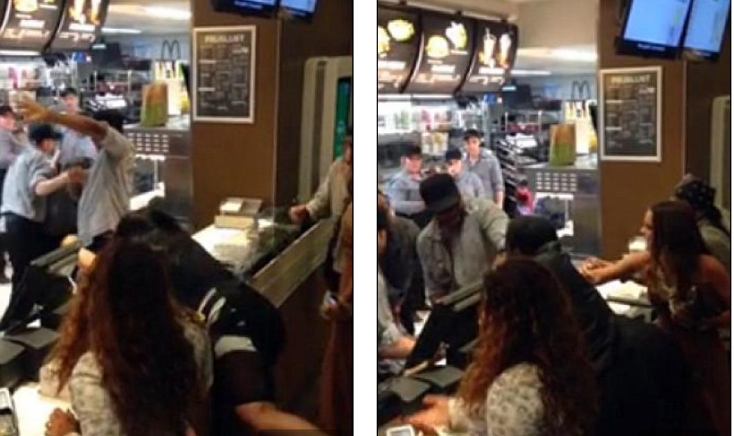 Βίντεο για γέλια και για κλάματα: Θερμόαιμη ''κυρία'' τα πήρε στο κρανίο με υπάλληλο μπεργκεράδικου - Ο καυγάς του fast food  - Κυρίως Φωτογραφία - Gallery - Video