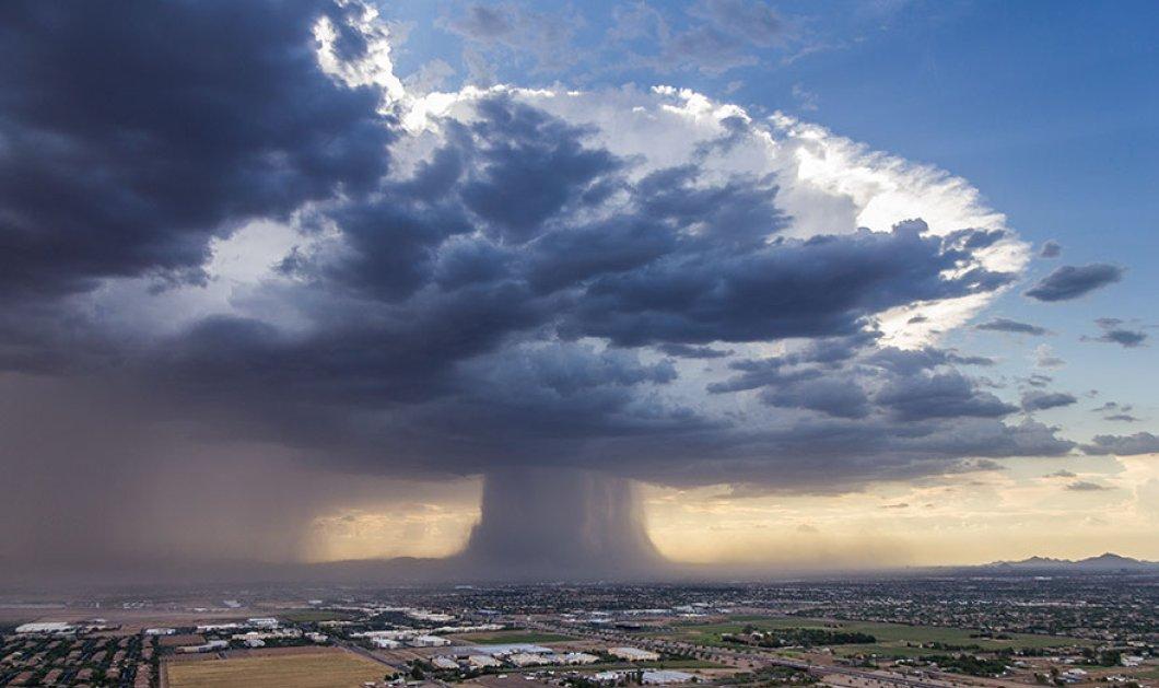 Η δύναμη της φύσης: Οι καθηλωτικές εικόνες από ένα μοναδικό φυσικό φαινόμενο πάνω από το Φοίνιξ της Αριζίνα (βίντεο, φωτό)  - Κυρίως Φωτογραφία - Gallery - Video