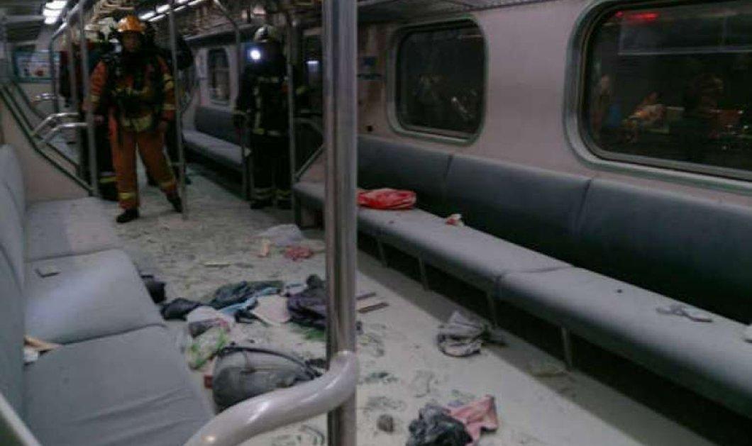 """Εφιάλτης σε τρένο στη Ταϊβάν: Εκρήξεις βομβών εγκλώβισαν και έκαναν """"κομμάτια"""" 25 ανθρώπους   - Κυρίως Φωτογραφία - Gallery - Video"""